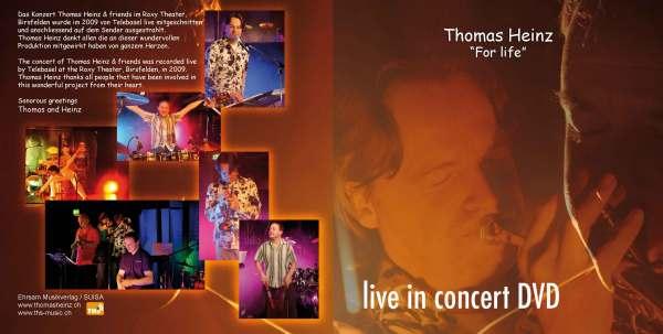 DVD Thomas Heinz & friends live in concert