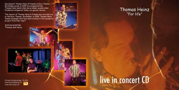 CD Thomas Heinz & friends live in concert